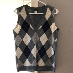Women's, medium sweater vest